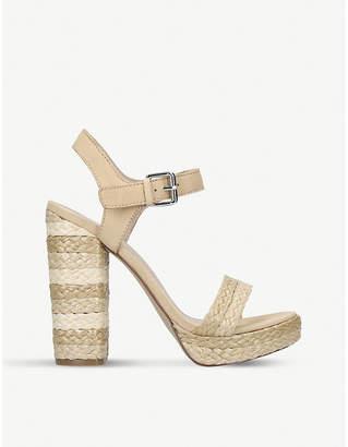 Aldo Huglag espadrille platform heel sandals