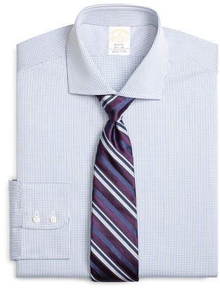 Brooks Brothers Golden Fleece Regent Fitted Dress Shirt, Shadow Check
