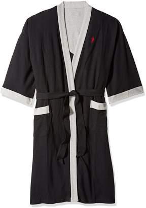 c177773f98 Jockey Men s Waffle Weave Kimono Robe