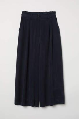 H&M Wide-leg Pants - Black - Women