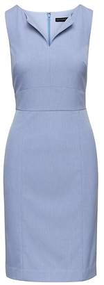 Banana Republic Machine-Washable Birdseye Paneled Sheath Dress