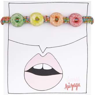 Venessa Arizaga Rainbow Loops Bracelet