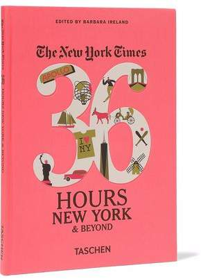Taschen The New York Times: 36 Hours New York And Beyond Hardcover Book