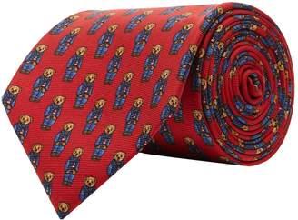 Polo Ralph Lauren Silk Bear Tie