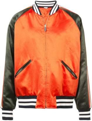 Gucci sateen bomber jacket