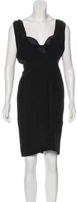 Just Cavalli Silk Knee-Length Dress