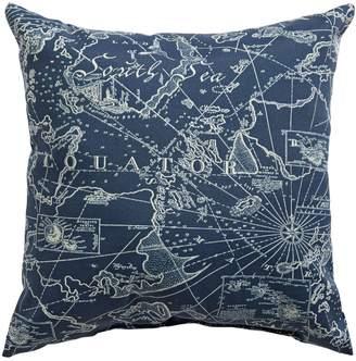 Home Studio South Seas Print Square Cushion