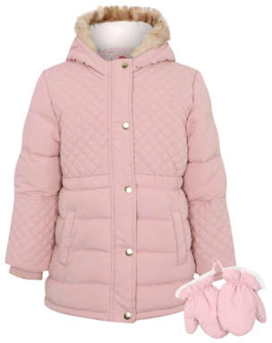 George Quilted Shower Resistant Coat