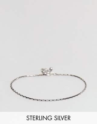 Asos Design DESIGN sterling silver bracelet