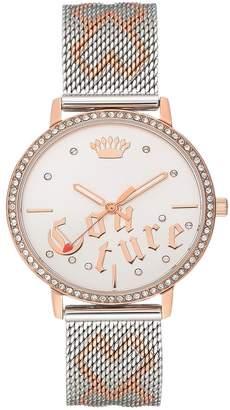 Juicy Couture Women's Two-Tone Bracelet Watch, 34mm