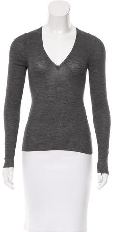 Gucci Gucci Wool V-Neck Sweater