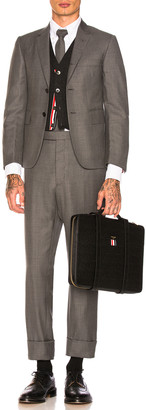 Thom Browne Classic Wool Suit in Medium Grey | FWRD