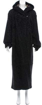 Zandra Rhodes Broadtail Hooded Coat