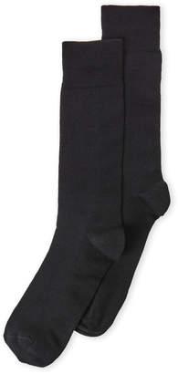 Lorenzo Uomo Wool Crew Socks