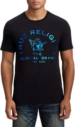 True Religion MENS METALLIC BUDDHA LOGO TEE