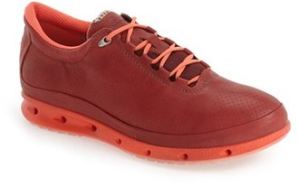 Women's Ecco 'Cool' Waterproof Perforated Leather Sneaker $189.95 thestylecure.com
