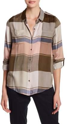 Lucky Brand Plaid Button & Pocket Shirt