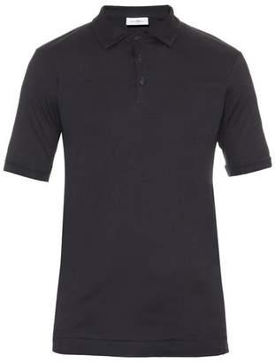 THE WHITE BRIEFS Maier cotton polo shirt