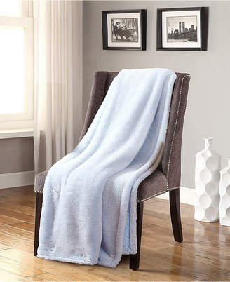De Moocci Frosted Tip Fluffy Oversized Throw Super Soft