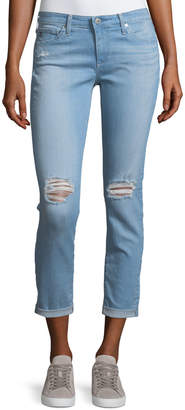 AG Jeans Stilt Rolled-Cuff Jeans