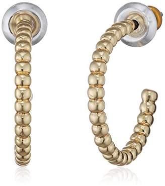 Pilgrim Women Gold Plated Hoop Earrings - 611732033