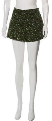 Derek Lam Print Short Shorts
