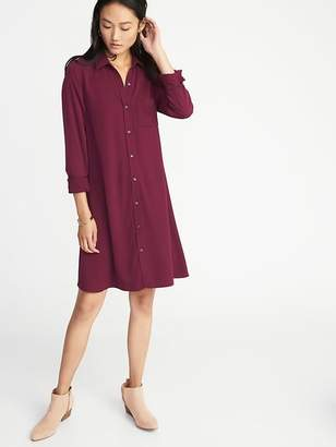 Old Navy Swing Shirt Dress for Women