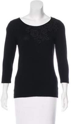 Saks Fifth Avenue Long Sleeve Cashmere Top