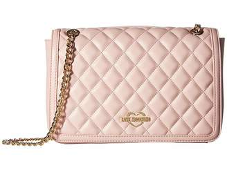 a4500fc721 at Zappos · Love Moschino Quilted Crossbody Chain Strap
