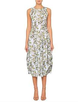 High At Length Stretch Floral Dress