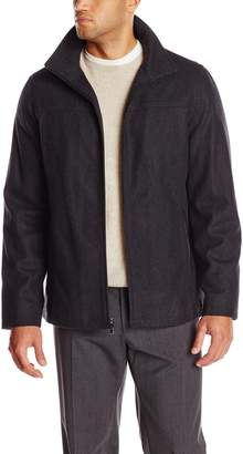 Perry Ellis Men's Tall Melton Wool Jacket