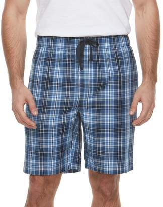 Chaps Men's Plaid Sleep Shorts