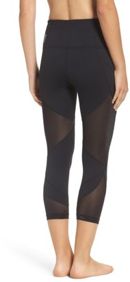Women's Zella Glam High Waist Crop Leggings $65 thestylecure.com