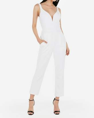 Express V-Wire Sweetheart Neck Jumpsuit