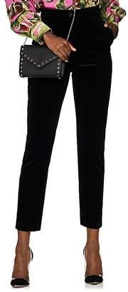 Dolce & Gabbana Women's Cotton Velvet Slim Trousers