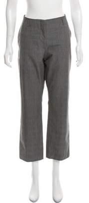 Dries Van Noten Glen Plaid Mid-Rise Pants Grey Glen Plaid Mid-Rise Pants