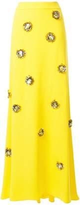DELPOZO sequin embellished maxi skirt