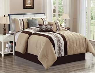 Luxlen. 7 Piece Luxury Bedding Set