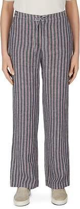 Gerard Darel Maggie Striped Linen Drawstring Pants