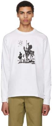 Noah NYC White Long Sleeve Love Vigilantes T-Shirt