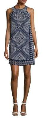 Taylor Printed Halter Dress