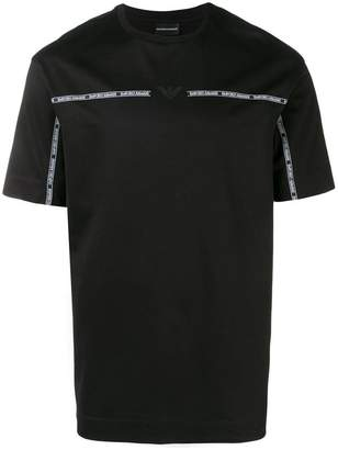 Emporio Armani logo band T-shirt