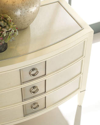 Caracole Elisse Three-Drawer Night Stand
