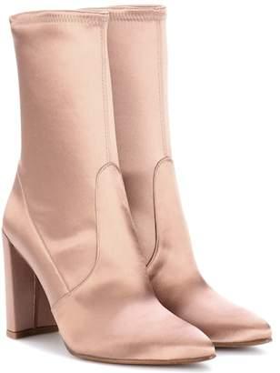 Stuart Weitzman Clinger satin boots