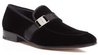 Salvatore Ferragamo Men's Danny 2 Vara Ornament Velvet Loafers