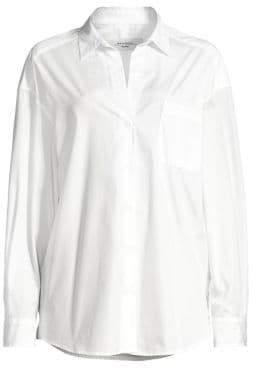 Max Mara Locusta Cotton Poplin Shirt