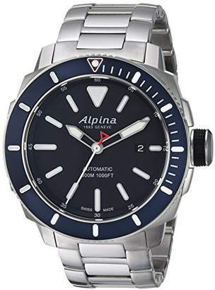 Alpina Men's 'Seastrong' Swiss Automatic Stainless Steel Diving Watch
