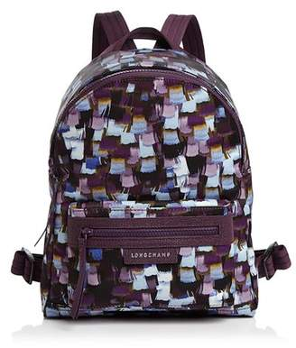 Longchamp Le Pliage Neo Printed Small Backpack