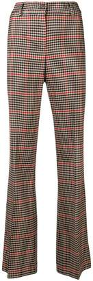 P.A.R.O.S.H. checkered tailored trousers