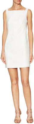 Karen Millen Lace Back Mini Sheath Dress